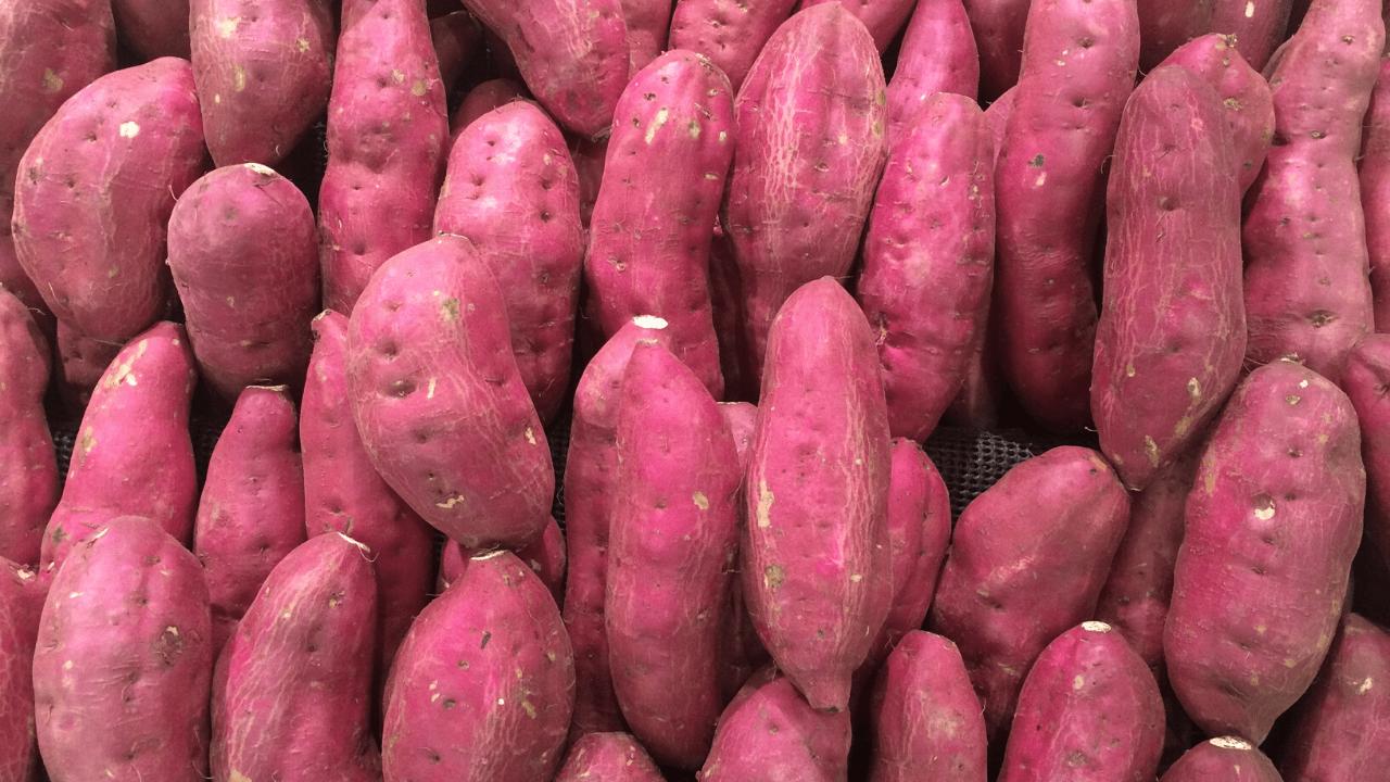Stuffed Sweet Potato Boats