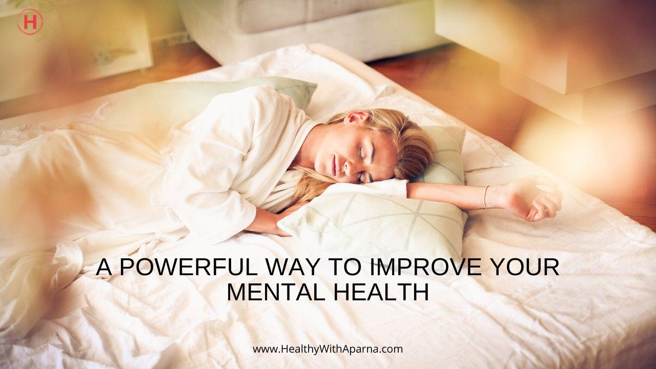 Yoga Nidra : A powerful way to improve your Mental Health